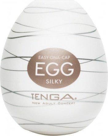 Мастурбатор tenga egg silky, шелковая текстура - оригинал