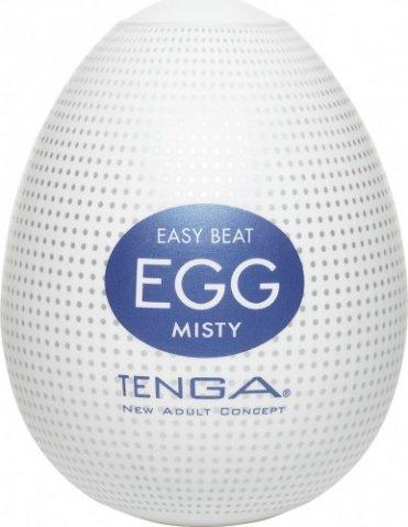Супер эластичный мастурбатор в виде яйца misty, фото 2