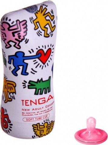 Мастурбатор Keith Haring Soft Tube Cup (Tenga)