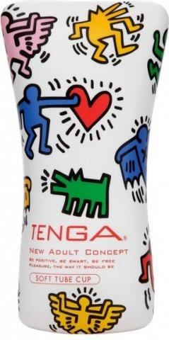 Мастурбатор Keith Haring Soft Tube Cup (Tenga), фото 2