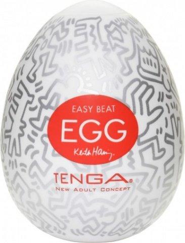 Супер эластичный мастурбатор-яйцо Keith Ham, фото 2