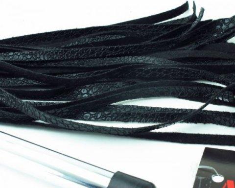 Плетка с металлической ручкой, фото 2