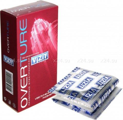 Презервативы vizit overture увеличенного размера, 12 шт
