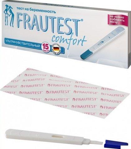 Тест Frautest Comfort в кассете-держателе с колпачком, 1 шт
