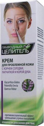 Крем для проблемной кожи лица, с корнем солодки, лапчаткой и корой дуба, 75 мл, фото 4