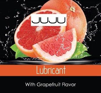 Съедобный лубрикант juju со вкусом грейпфрута саше 3ml 7746ju