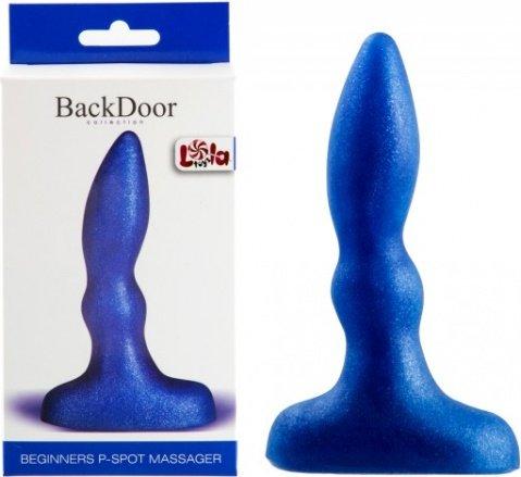 Анальный стимулятор Beginners p-spot massager blue