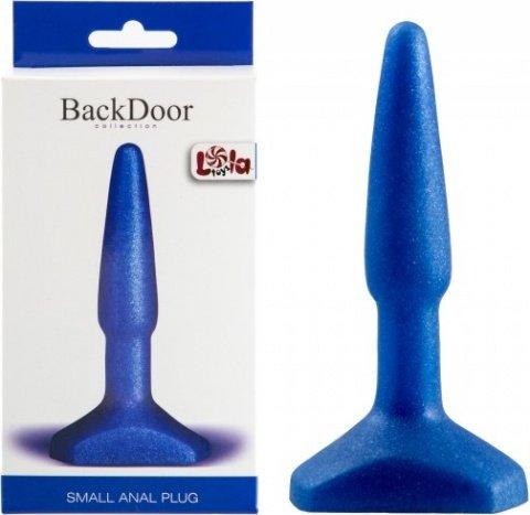Анальный стимулятор Small Anal Plug blue, фото 2