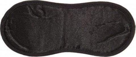 Маска на глаза bondage черная 1030-01lola, фото 3
