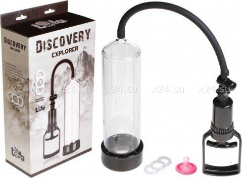 Вакуумная помпа с эрекционным кольцом Discovery Explorer, фото 2