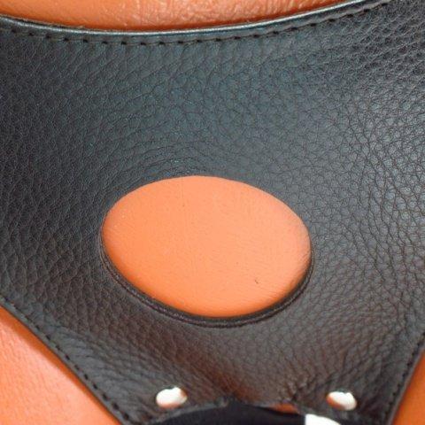 Трусики для страпона коричневые, фото 3