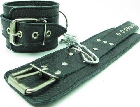 Кожаные наручники, фото 2
