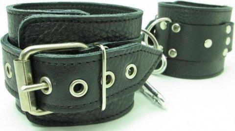 Кожаные наручники, фото 3