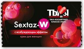 Ты и Я - Крем ''Sextaz-W'' для женщин 1,5 г (20*1) упак, фото 3