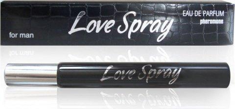 Духи мужские ''lovespray'' с феромонами (спрей) 15 мл аромат hugo boss, фото 2