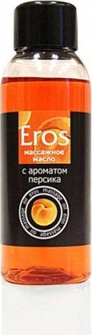 Масло массажное eros (с ароматом персика) флакон 50 мл, фото 3