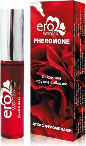 Erowoman нейтрал Женские духи с феромонами флакон ролл-он 10 мл, фото 2