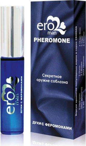 Eroman 3 Мужские духи с феромонами флакон ролл-он 10 г
