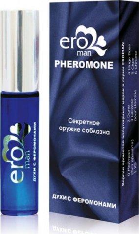 Eroman 3 Мужские духи с феромонами флакон ролл-он 10 г, фото 2