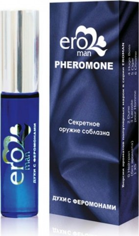 Eroman 4 Мужские духи с феромонами флакон ролл-он 10 г, фото 2