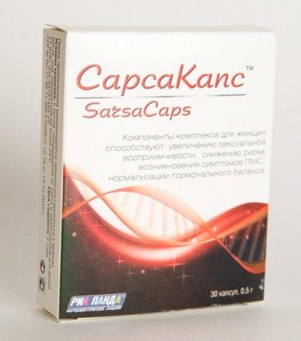 Возбуждающие капсулы для женщин SarsaCaps (30 капсул), фото 2