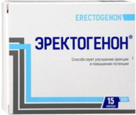 Эректогенон капс. 0,5 г. капсул д\муж