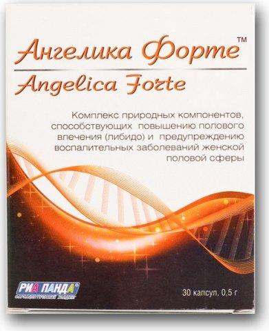 Возбуждающие капсулы для женщин Angelika Forte (30 капсул), фото 2