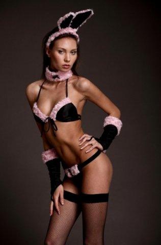 Комплект аксессуаров Зайка, черно-розовый, фото 6