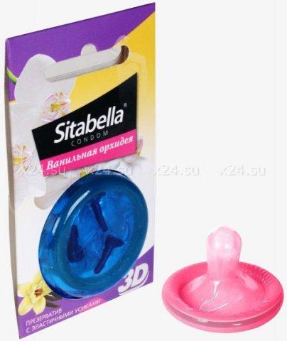 Презервативы ситабелла 3d ванильная орхидея 1/24 упак, фото 2