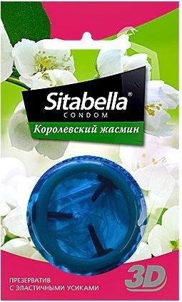 Презервативы ситабелла 3d королевский жасмин 1/24 упак, фото 2