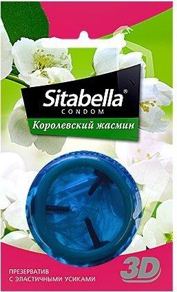 Презервативы ситабелла 3d королевский жасмин 1/24 упак, фото 3