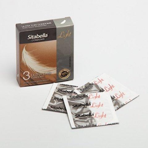 Презервативы ситабелла лайт особо тонкие 1/12 упак
