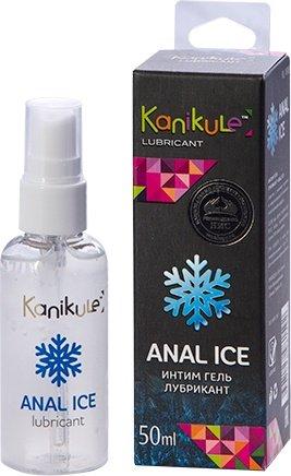 Анальный лубрикант с охлаждающим эффектом Kanikule Anal ice (50 мл), фото 2