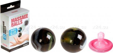 Шарики массажные (стекло) 8008