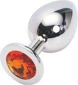 Металл. цвет кристалла оранжевый - Секс шоп Мир Оргазма