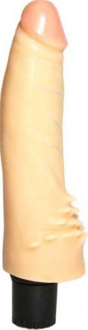 Вибратор с усиками для стимуляции клитора, с розовой головкой, телесный, 40 х170 мм, фото 6