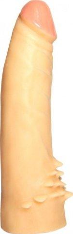 Насадка на трусики телесный, 40 х170 мм 17 см, фото 2
