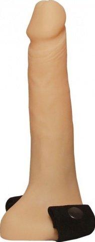 Страпон с полостью, телесный, 35 х175 мм 17 см
