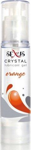 Увлажняющая гель-смазка на водной основе с ароматом апельсина Crystal Orange 60 мл