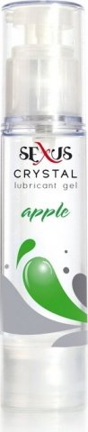 Увлажняющая гель-смазка на водной основе с ароматом яблока Crystal Apple 60 мл