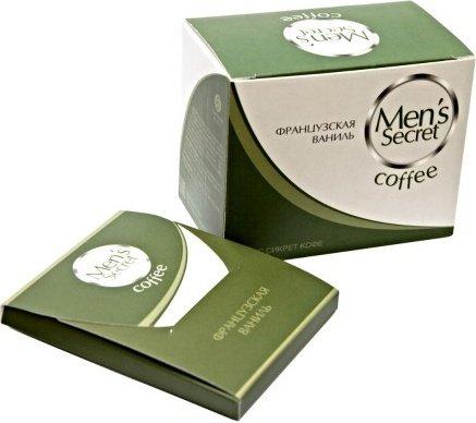 Менс Сикрет Кофе (напиток) французская ваниль, 6 шт/упак
