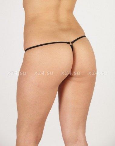 Стринги контактные женские розовое кружево р, фото 2