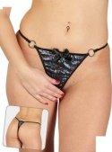 Стринги блестящие, с доступом, черные, размер 46 - Секс-шоп Мир Оргазма