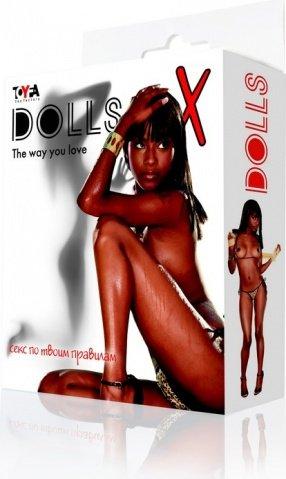 Кукла надувная, негритянка, фото 2