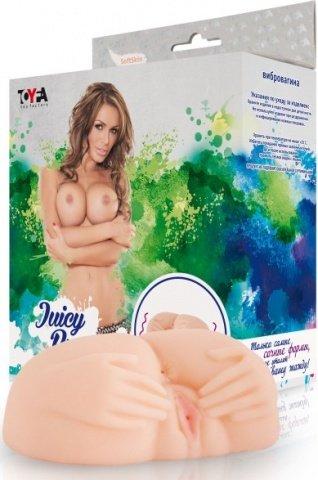 Мастурбатор с вибрацией(вагина и анус), фото 4