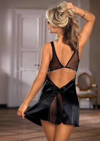 Нижнее платье и стринги черные, фото 2