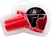 Насадка силиконовая, красная - Секс-шоп Мир Оргазма