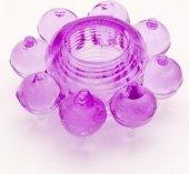 Кольцо гелевое фиолетовое | Эрекционные кольца без вибрации | Интернет секс шоп Мир Оргазма