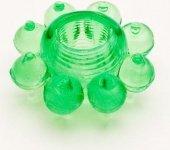 Кольцо гелевое зеленое | Эрекционные кольца без вибрации | Интернет секс шоп Мир Оргазма