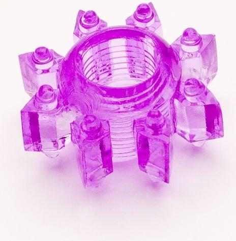 Кольцо гелевое фиолетовое, фото 2